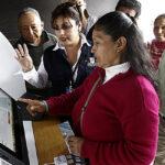 ONPE suspende voto electrónico en 11 distritos para la primera vuelta