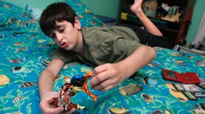 niños autistas en el peru videos