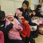 China: Una provincia permite a algunas parejas tener tres hijos