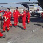Bomberos de Arequipa parten rumbo a Ecuador