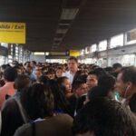 Metropolitano: Falta de buses causa caos y confusión en usuarios (VIDEO)