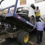 Carretera Central: Envían al depósito vehículos sin permiso de servicio