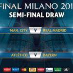 Champions: Manchester City enfrentará en semifinales al Real Madrid