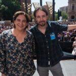 España: Ada Colau pide que Podemos vaya con grupo propio