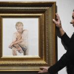 Londres: Exhiben el polémico cuadro de Donald Trump desnudo