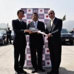 Japón dona a Perú flota de 61 vehículos ecológicos de última generación
