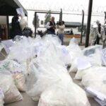En varios operativos: PNP decomisa una tonelada de cocaína y detiene a 31 personas