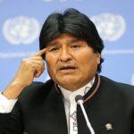 Morales reitera petición de diálogo con Chile para tratar temas humanitarios
