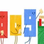 Google: Mira el doodle por elecciones en Perú (VIDEO)