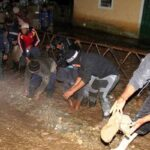 Huancavelica: Limpian viviendas afectadas por aniego