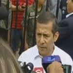 """Ollanta Humala: """"No he violado derechos humanos"""""""