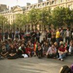 """Francia: """"Indignados"""" vuelven a la parisina plaza de la República"""