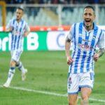 Gianluca Lapadula marca dos goles en victoria del Pescara