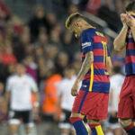 Liga BBVA: Barcelona completa mal momento al caer 2-1 con Valencia
