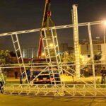 La Molina: Desmontan enorme panel publicitario