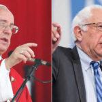 """Sanders: """"El Papa ha jugado un papel histórico"""" al trazarnueva economía"""