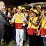 Lurín: Ministro del Interior juramentó a 1,600 integrantes de juntas vecinales