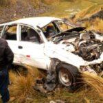Oyón: Cuatro muertos, entre ellos dos policías, en accidente vial