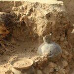 Caral: Hallan restos de mujer sepultados hace 4,500 años