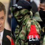 Santos ordenó perseguir al ELN mientras no liberen a rehenes