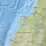 Nuevo sismo de magnitud 5.8 sacude costa de Ecuador: van más de 700 réplicas