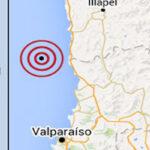 Chile: Sismo de 4.5 grados se registró entre Valparaíso y Coquimbo