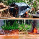 Destruyen campamentos y maquinaria de minería ilegal en Tambopata