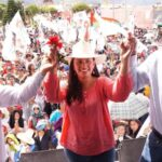 Verónika Mendoza: Agua de cuencas irá con prioridad al consumo humano