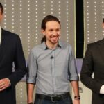 PSOE, Podemos y Ciudadanos analizan por primera vez posible pacto