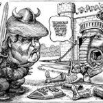 The Economist : Caricatura trata de trogloditas a seguidores de Donald Trump