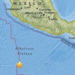 Sismo de magnitud 6.8 sacude el Pacífico frente a costa mexicana