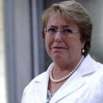 Chile: Bachelet visita en hospital a mujer que le arrancaron los ojos