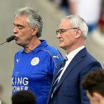 Andrea Bocelli cantó antes del partido con la camiseta del Leicester (VIDEO)
