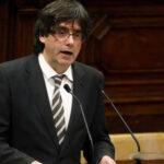 """Puigdemont expone su """"vía catalana"""" para la independencia en Londres"""