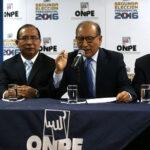 ONPE saluda formación de grupo parlamentario que verá reformas electorales