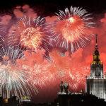 Moscú celebra Día de la Victoria con diez mil fuegos artificiales (VIDEO)