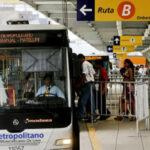 Metropolitano: Menos unidades este sábado por feriado