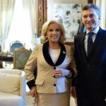 Mirtha Legrand almuerza con el presidente Macri en la Casa Rosada