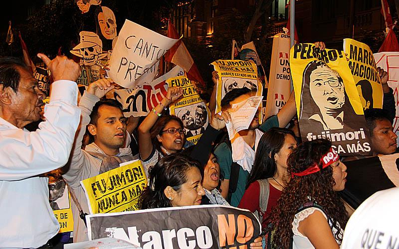 Es momento de salir a rechazar la dictadura de Fuerza Popular — CGTP