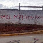 Huancayo: aparecen pintas terroristas en anexo de Palián (FOTOS)