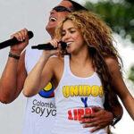 Shakira llega para grabar vídeo con Carlos Vives en Barranquilla
