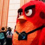 Angry Birds: Red protagonizó singular tour en Lima (FOTOS)