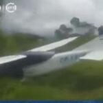 Oxapampa: derriban avioneta boliviana con más de 70 kilos de droga (VÍDEO)