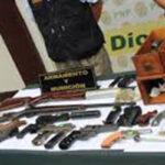 Chimbote: detienen a presuntos fabricantes de armas de fuego