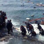 Canal de Sicilia: Naufraga barcaza con centenar de inmigrantes