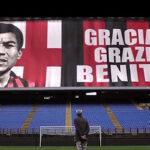 Milán: Peruano Víctor Benítez recibió homenaje (VIDEO)