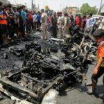 Irak: 64 muertos en atentado cerca de mercado popular en Bagdad