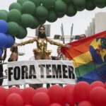 Orgullo Gay de Sao Paulo tiene comparsa contra presidente Temer