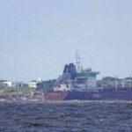 Uruguay: Buque cargado con aceite vegetal encalló en isla de Punta del Este (VIDEO)