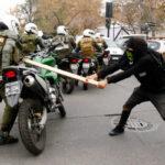 Chile: Marcha no autorizada deja 31 policías heridos y 117 detenidos